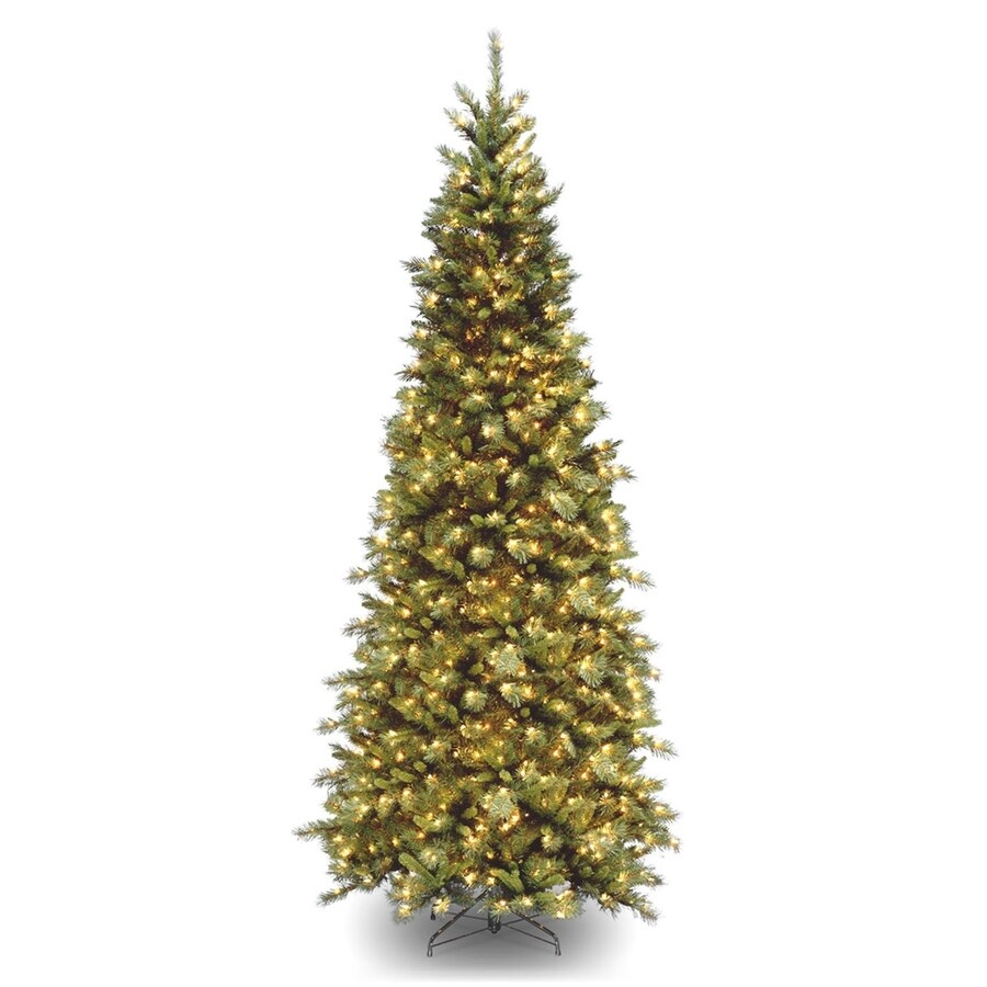 National Tree Company 9 Ft Pre Lit Slim Artificial Christmas With 700 Constant