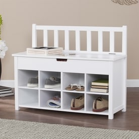 Delicieux Boston Loft Furnishings Blaney Mission/Shaker Clean White Storage Bench