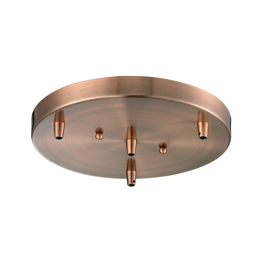 Innovations Lighting Antique Copper Metal Ceiling Light Mount