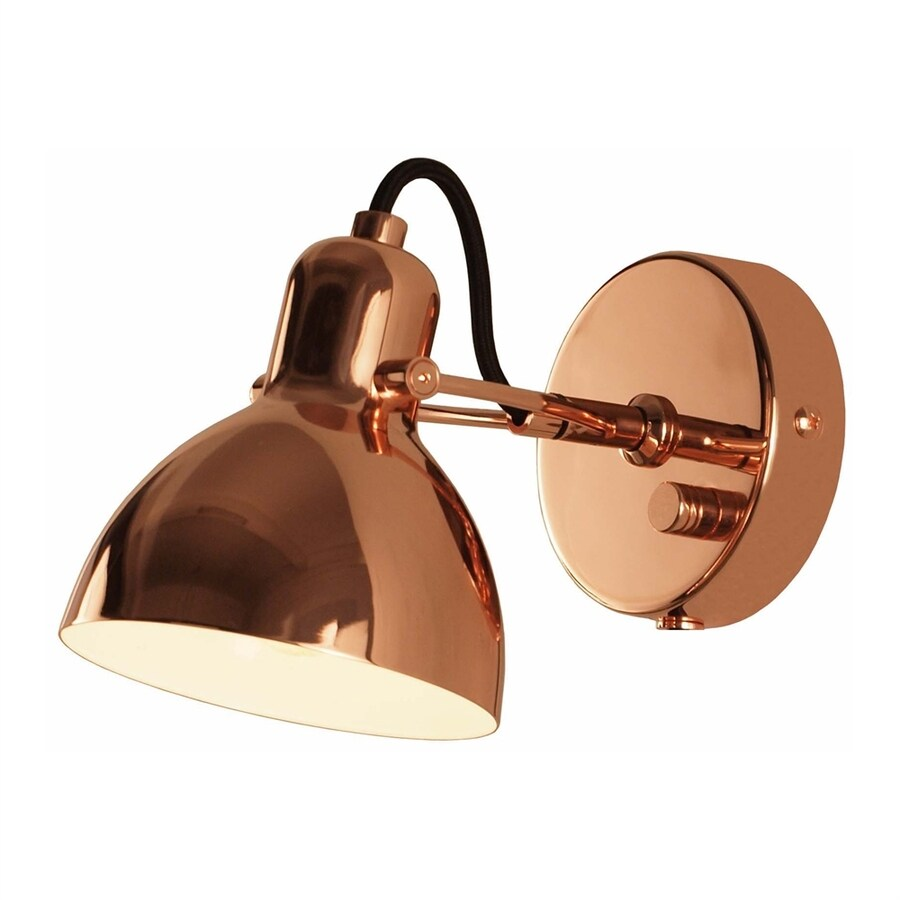 Seed Design Laito 4.3-in W 1-Light Copper Directional Wall Sconce