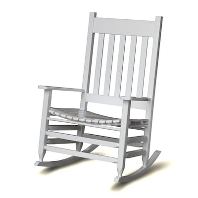 Marvelous Hinkle Chair Company Mission Shaker White Rocking Chair At Andrewgaddart Wooden Chair Designs For Living Room Andrewgaddartcom