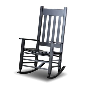 Hinkle Chair Company Mission/Shaker Black Rocking Chair