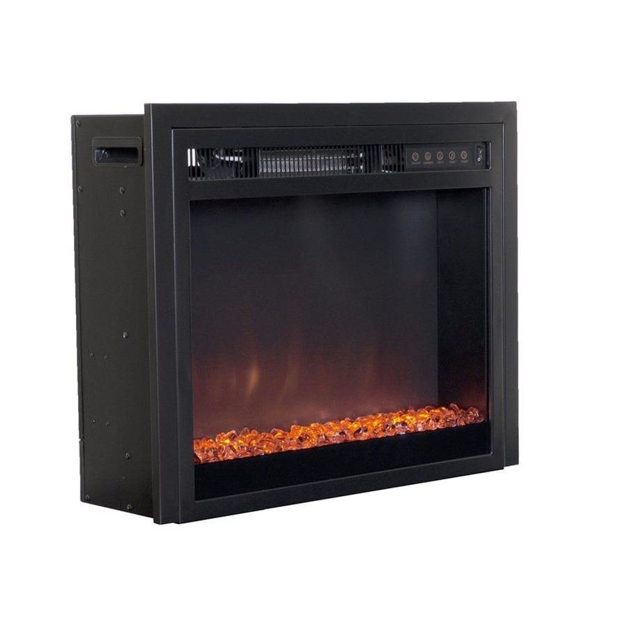 Corliving Black Electric Fireplace Insert At Lowes Com
