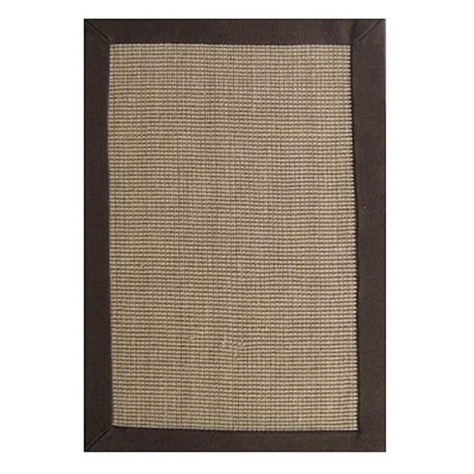 Acura Rugs Jute Natural/brown Indoor Handcrafted Area Rug