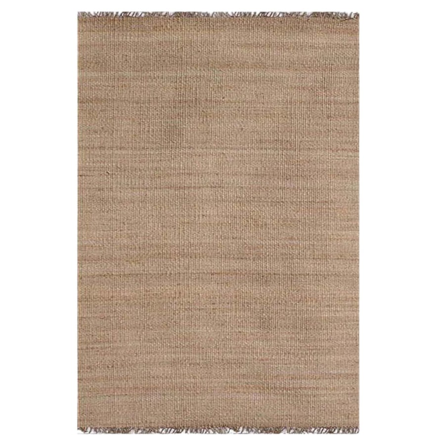 Shop Acura Rugs Jute Natural Indoor Area Rug Common 8 X