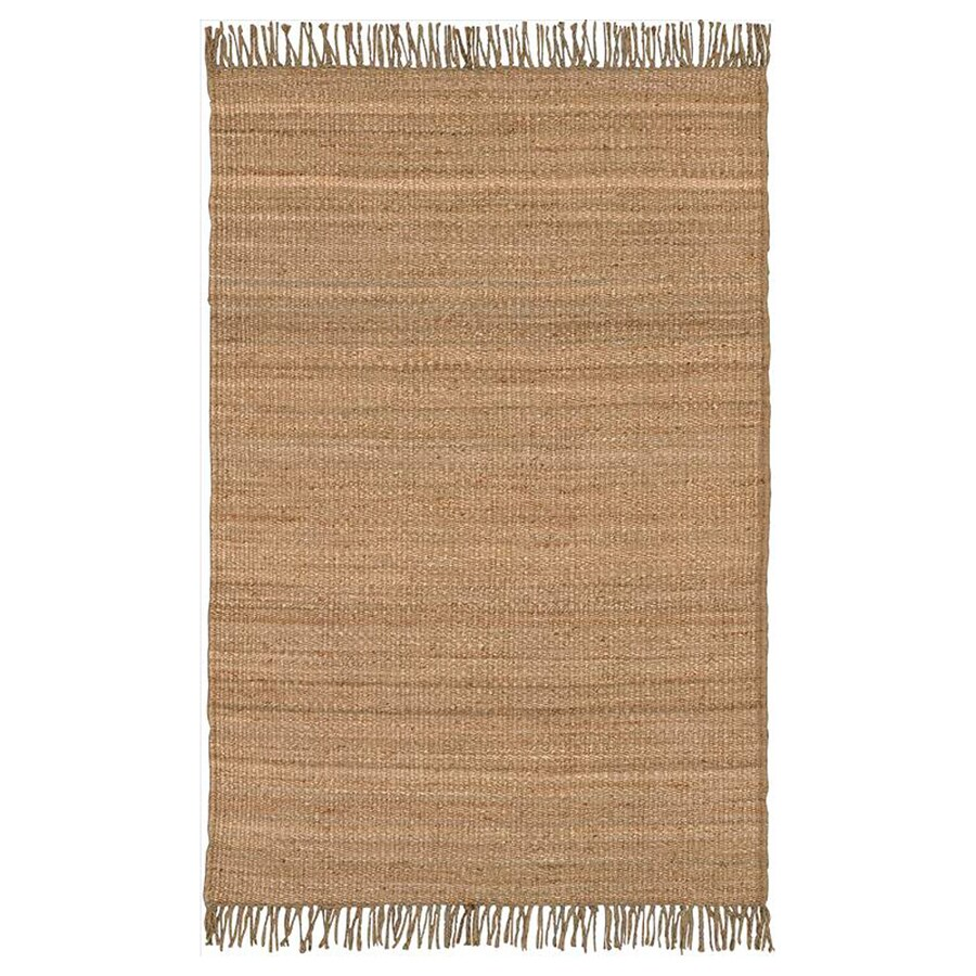 Surya Beige Square Indoor Handcrafted Area Rug (Common: 8 x 8; Actual: 8-ft W x 8-ft L)