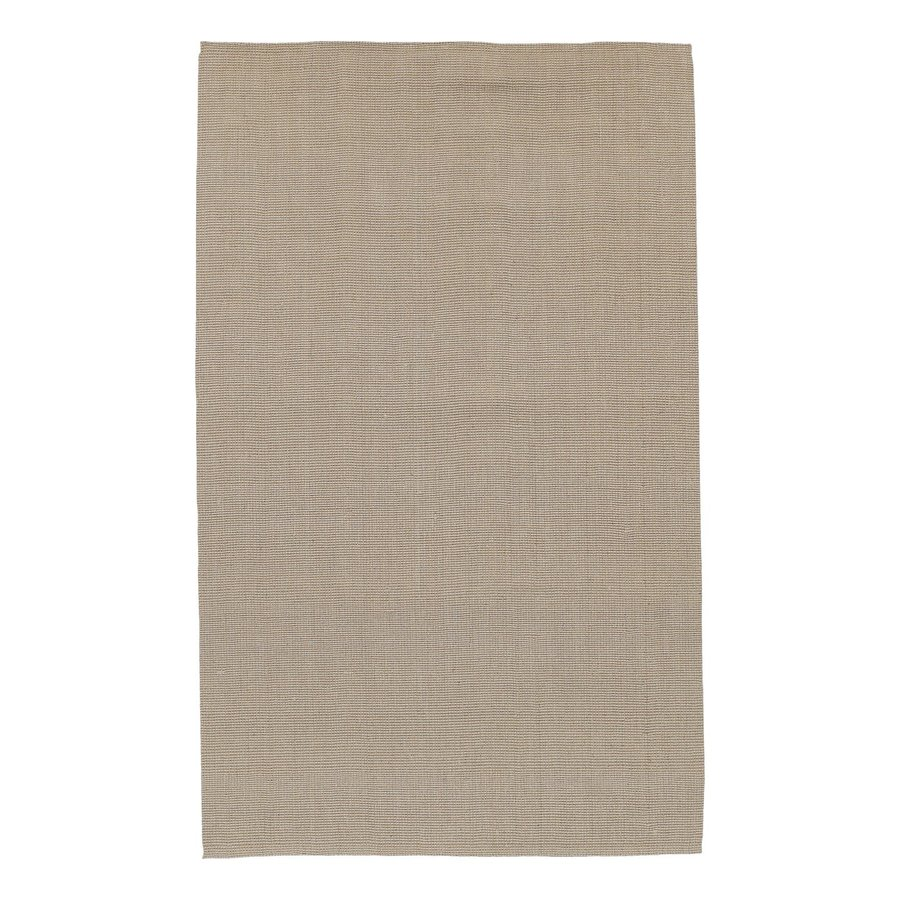 Surya Brown Indoor Handcrafted Area Rug (Common: 4 x 6; Actual: 3.5-ft W x 5.5-ft L)