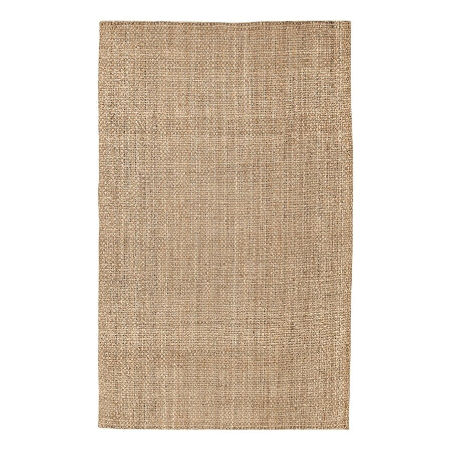 Surya Brown Indoor Handcrafted Throw Rug (Common: 2 x 4; Actual: 2.5-ft W x 4-ft L)