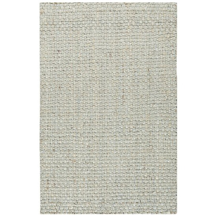 Surya Light Gray Indoor Handcrafted Area Rug (Common: 4 x 6; Actual: 3.5-ft W x 66-ft L)