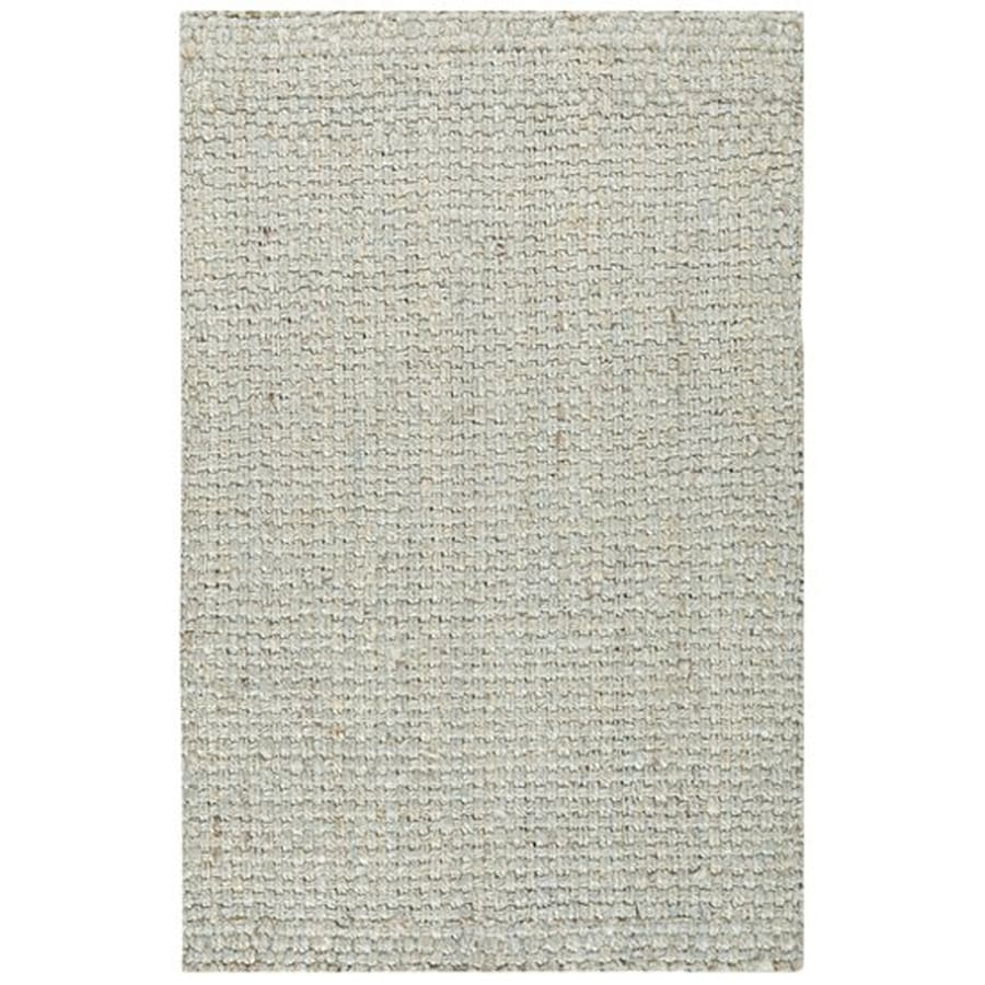 Surya Light Gray Indoor Handcrafted Area Rug (Common: 9 x 13; Actual: 9-ft W x 13-ft L)