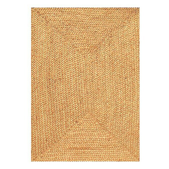 Acura Rugs Jute Natural Indoor Handcrafted Area Rug