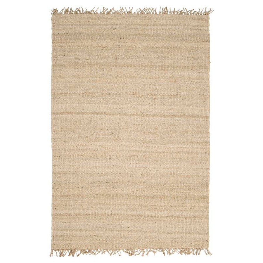 Surya Bleached Indoor Handcrafted Area Rug (Common: 4 x 6; Actual: 4-ft W x 5.75-ft L)