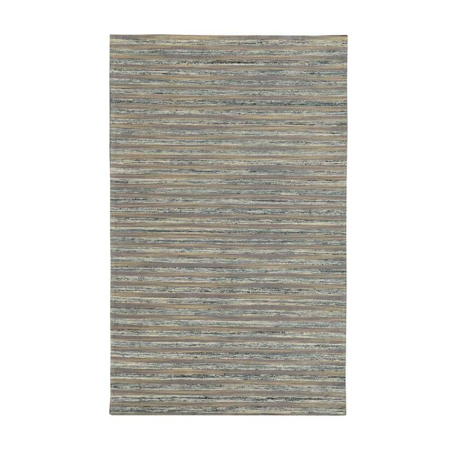 NobleHouse Lazzarro Grey Indoor Area Rug (Common: 5 x 7; Actual: 5-ft W x 7.5-ft L)