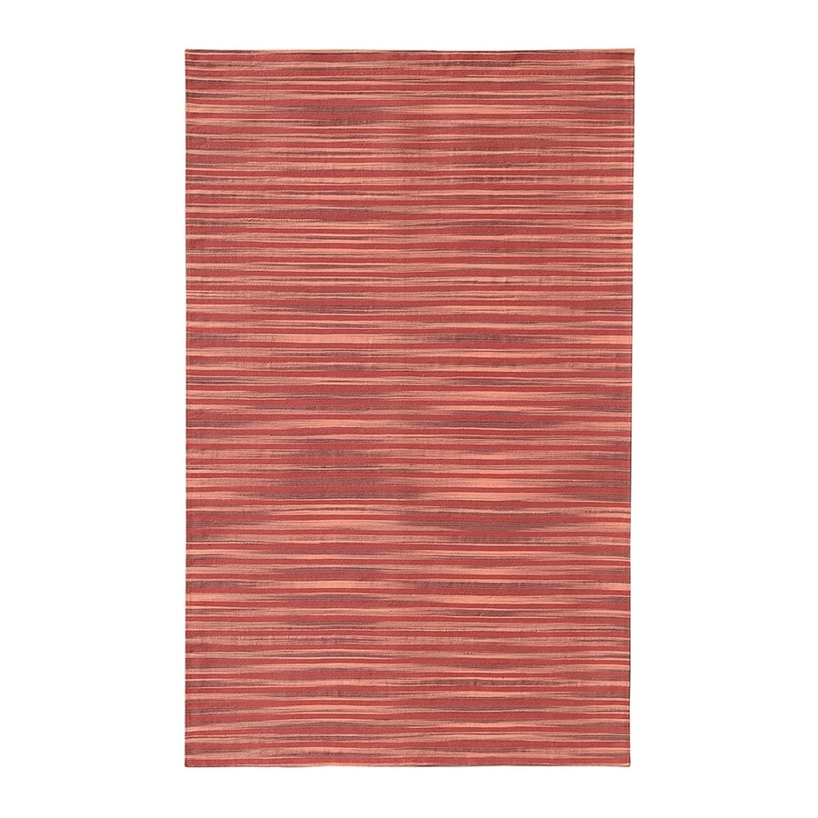 NobleHouse Marval Red Indoor Area Rug (Common: 5 x 7; Actual: 5-ft W x 7.5-ft L)