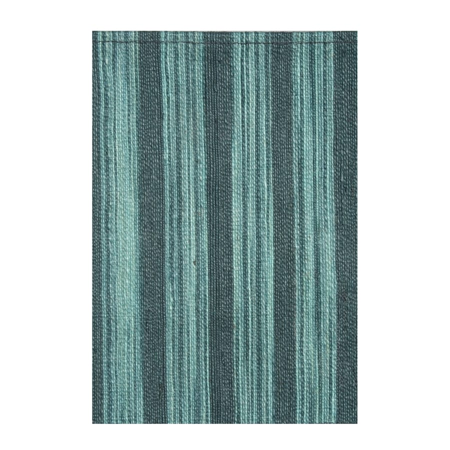 NobleHouse Marval Teal Blue Indoor Area Rug (Common: 8 x 10; Actual: 7.75-ft W x 10.5-ft L)