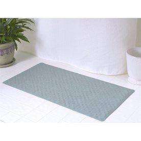 Carnation Home Fashions 28 In X 16 Sage Rubber Bath Mat