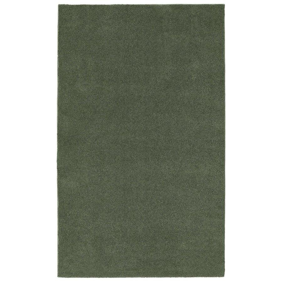 Garland Rug 96-in x 60-in Deep Fern Nylon Bath Rug