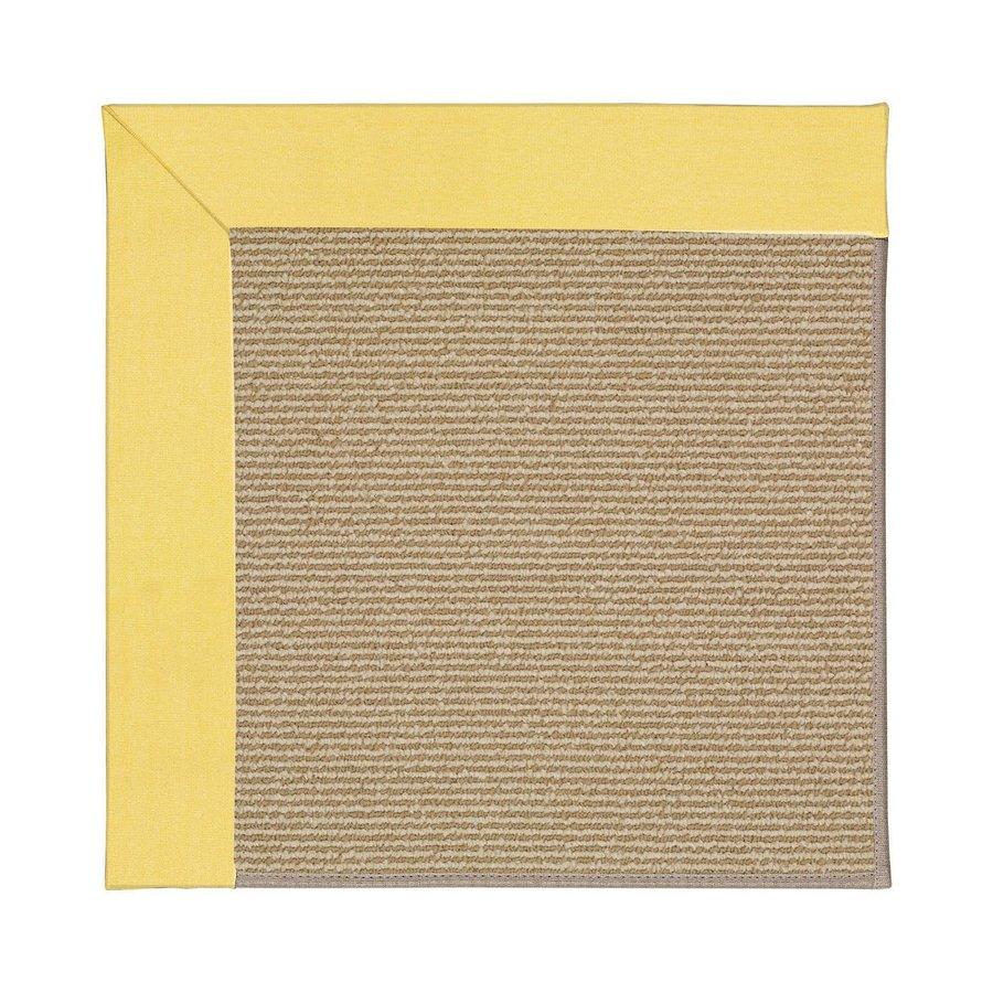 Capel Rugs Zoe-Sisal Yellow Indoor/Outdoor Area Rug (Common: 3 x 5; Actual: 3-ft W x 5-ft L)