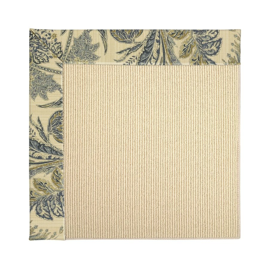 Capel Rugs Zoe-Beach High Seas Square Indoor/Outdoor Area Rug (Common: 12 x 12; Actual: 12-ft W x 12-ft L)