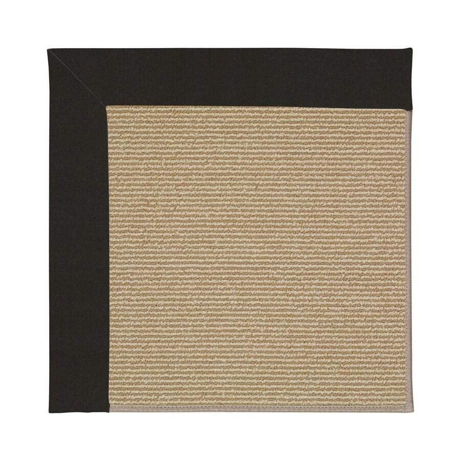 Capel Rugs Zoe-Sisal Ebony Indoor/Outdoor Area Rug (Common: 3 x 5; Actual: 3-ft W x 5-ft L)