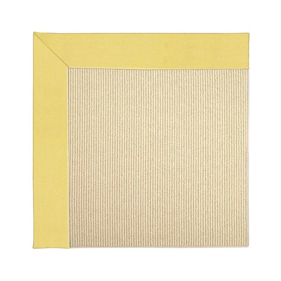 Capel Rugs Zoe-Beach Yellow Indoor/Outdoor Area Rug (Common: 12 x 15; Actual: 12-ft W x 15-ft L)