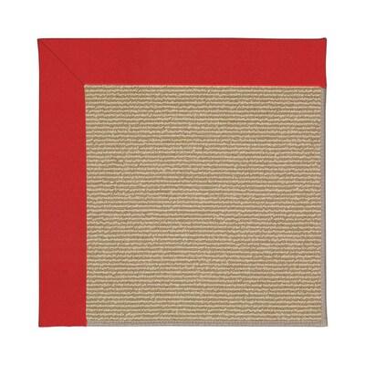 Zoe-Sisal Red Indoor/Outdoor Area Rug
