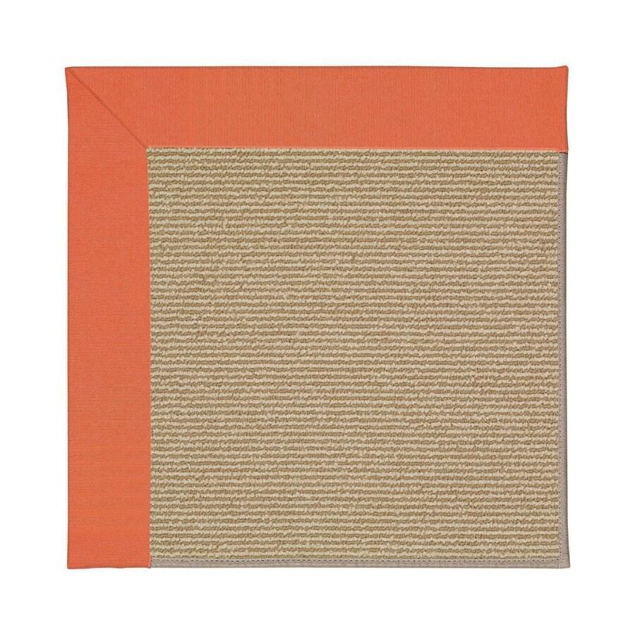 Capel Rugs Zoe-Sisal Sorrel Indoor/Outdoor Area Rug (Common: 9 x 12; Actual: 9-ft W x 12-ft L)