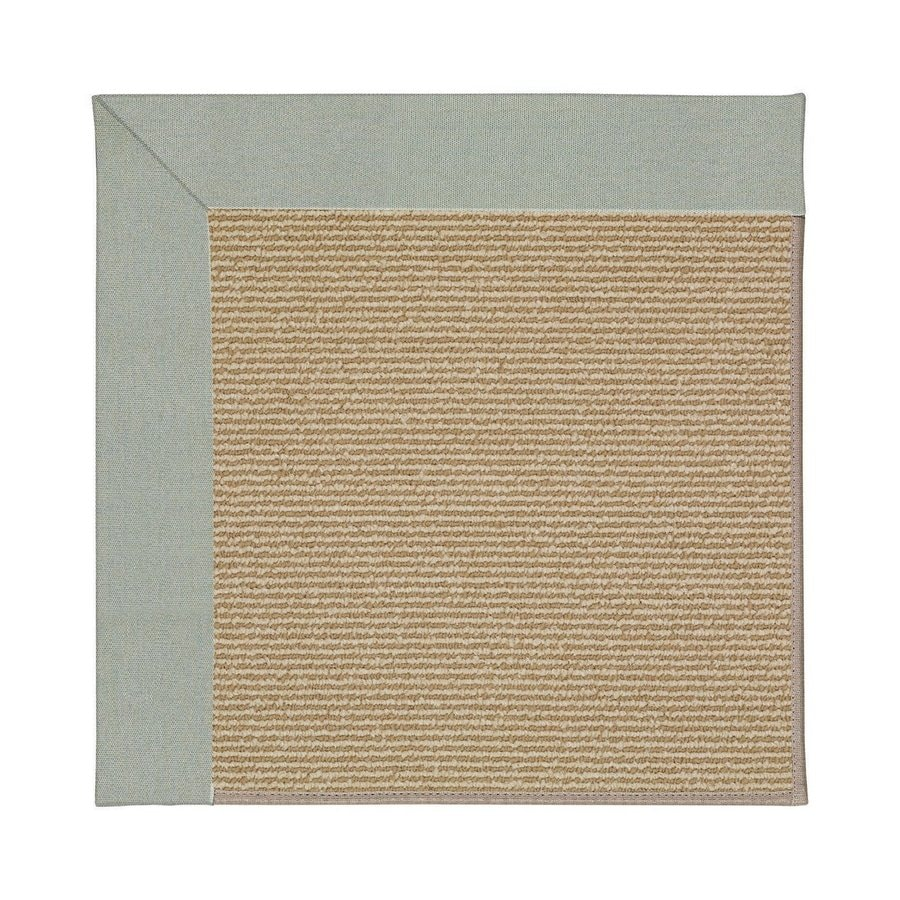 Capel Rugs Zoe-Sisal Marine Blue Square Indoor/Outdoor Area Rug (Common: 4 x 4; Actual: 4-ft W x 4-ft L)