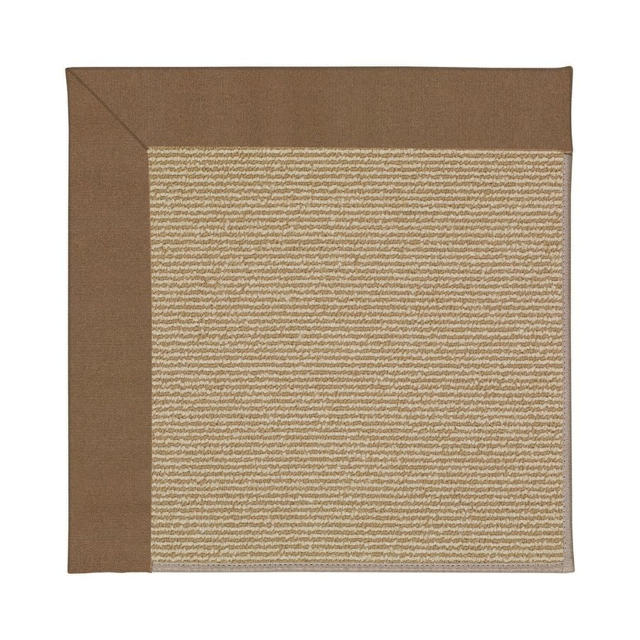 Capel Rugs Zoe-Sisal Cafe Square Indoor/Outdoor Area Rug (Common: 10 x 10; Actual: 10-ft W x 10-ft L)