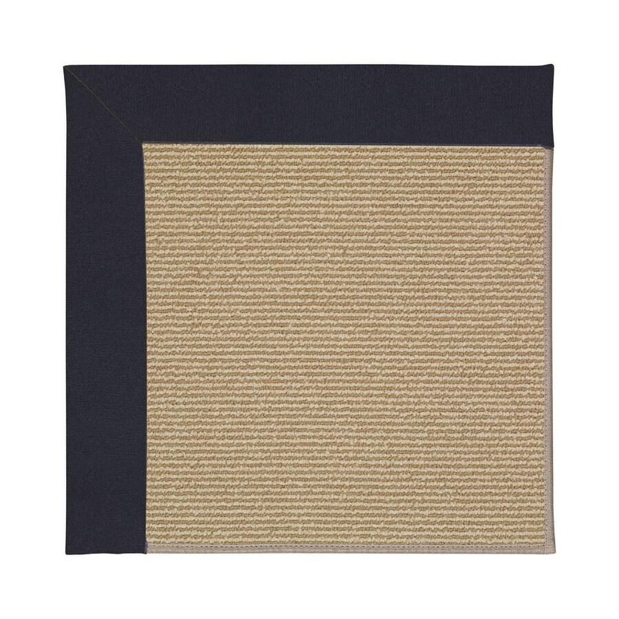 Capel Rugs Zoe-Sisal Dark Navy Indoor/Outdoor Area Rug (Common: 4 x 6; Actual: 4-ft W x 6-ft L)