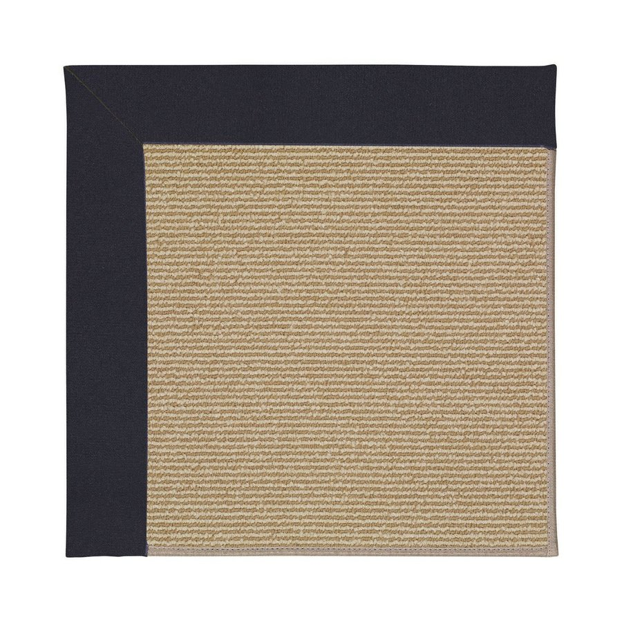 Capel Rugs Zoe-Sisal Dark Navy Indoor/Outdoor Area Rug (Common: 10 x 14; Actual: 10-ft W x 14-ft L)