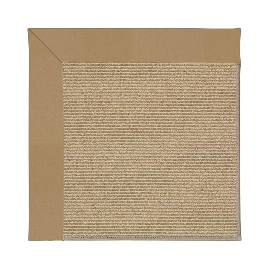 Capel Rugs Zoe-Sisal Light Gold Indoor/Outdoor Runner (Common: 2 x 8; Actual: 2.5-ft W x 8-ft L)