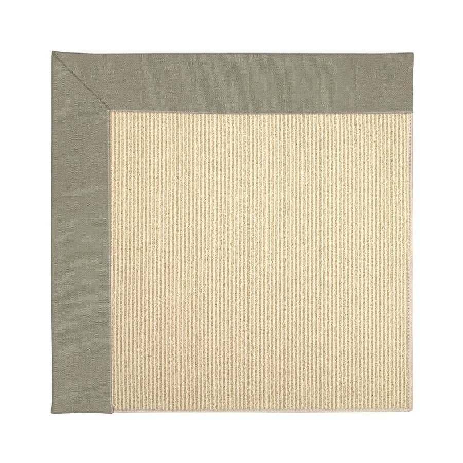 Capel Rugs Zoe-Beach Buff Square Indoor/Outdoor Area Rug (Common: 4 x 4; Actual: 4-ft W x 4-ft L)