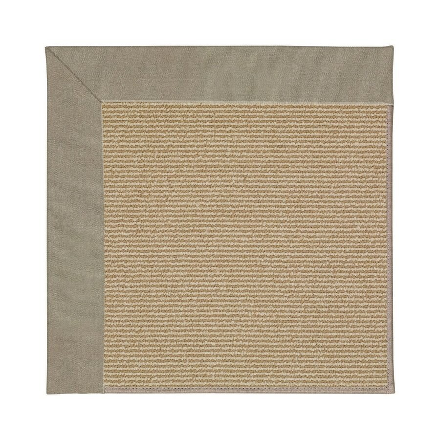 Indoor Outdoor Rugs Square: Capel Rugs Zoe-Sisal Buff Square Indoor/Outdoor Area Rug