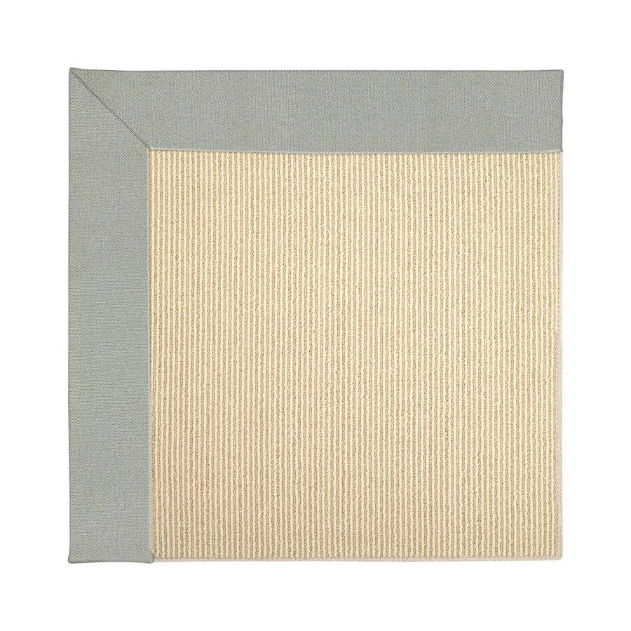 Capel Rugs Zoe-Beach Marine Blue Square Indoor/Outdoor Area Rug (Common: 10 x 10; Actual: 10-ft W x 10-ft L)