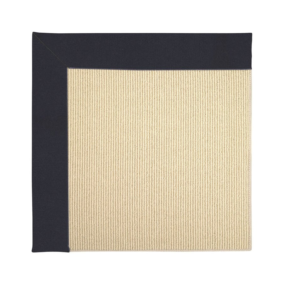 Capel Rugs Zoe-Beach Dark Navy Square Indoor/Outdoor Area Rug (Common: 10 x 10; Actual: 10-ft W x 10-ft L)