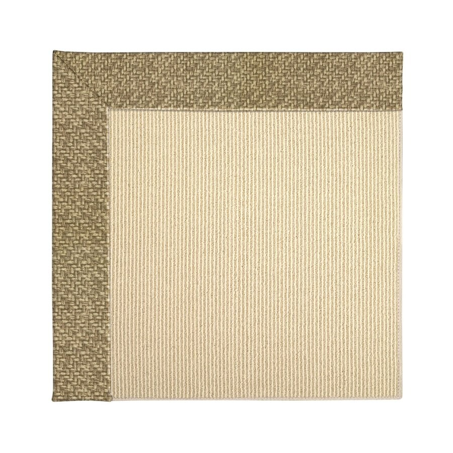 Capel Rugs Zoe-Beach Fawn Indoor/Outdoor Area Rug (Common: 4 x 6; Actual: 4-ft W x 6-ft L)