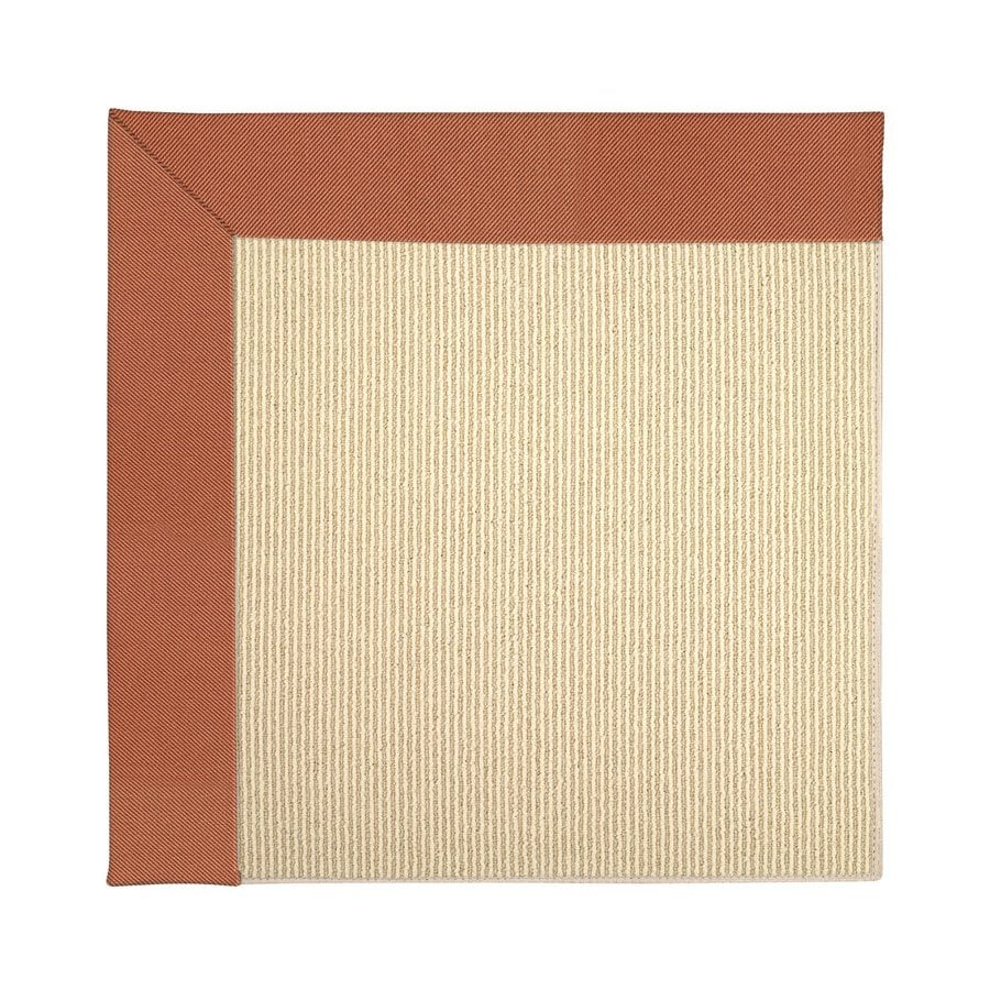 Capel Rugs Zoe Beach Clay Square Indoor Outdoor Area Rug Common 10