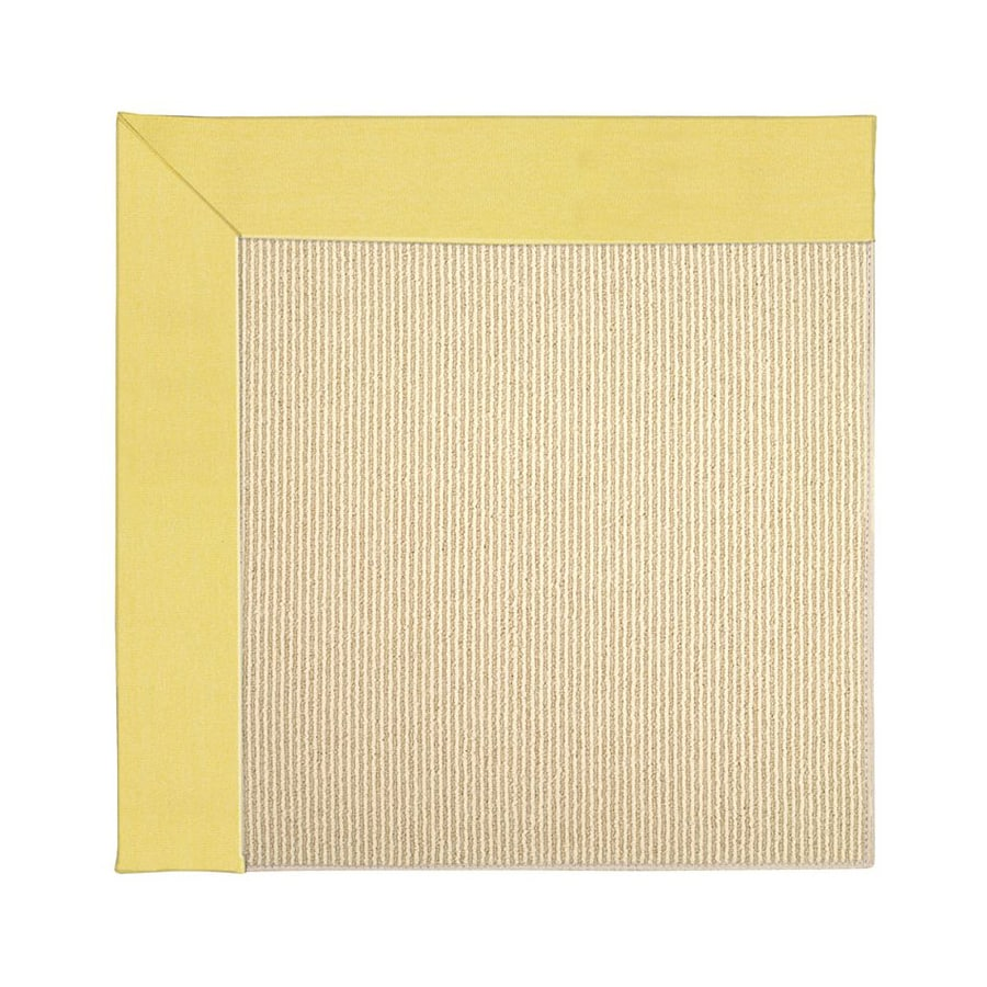 Capel Rugs Zoe-Beach Yellow Indoor/Outdoor Area Rug (Common: 10 x 14; Actual: 10-ft W x 14-ft L)