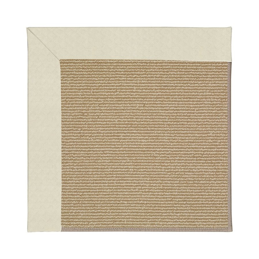Indoor Outdoor Rugs Square: Capel Rugs Zoe-Sisal Cream Square Indoor/Outdoor Area Rug