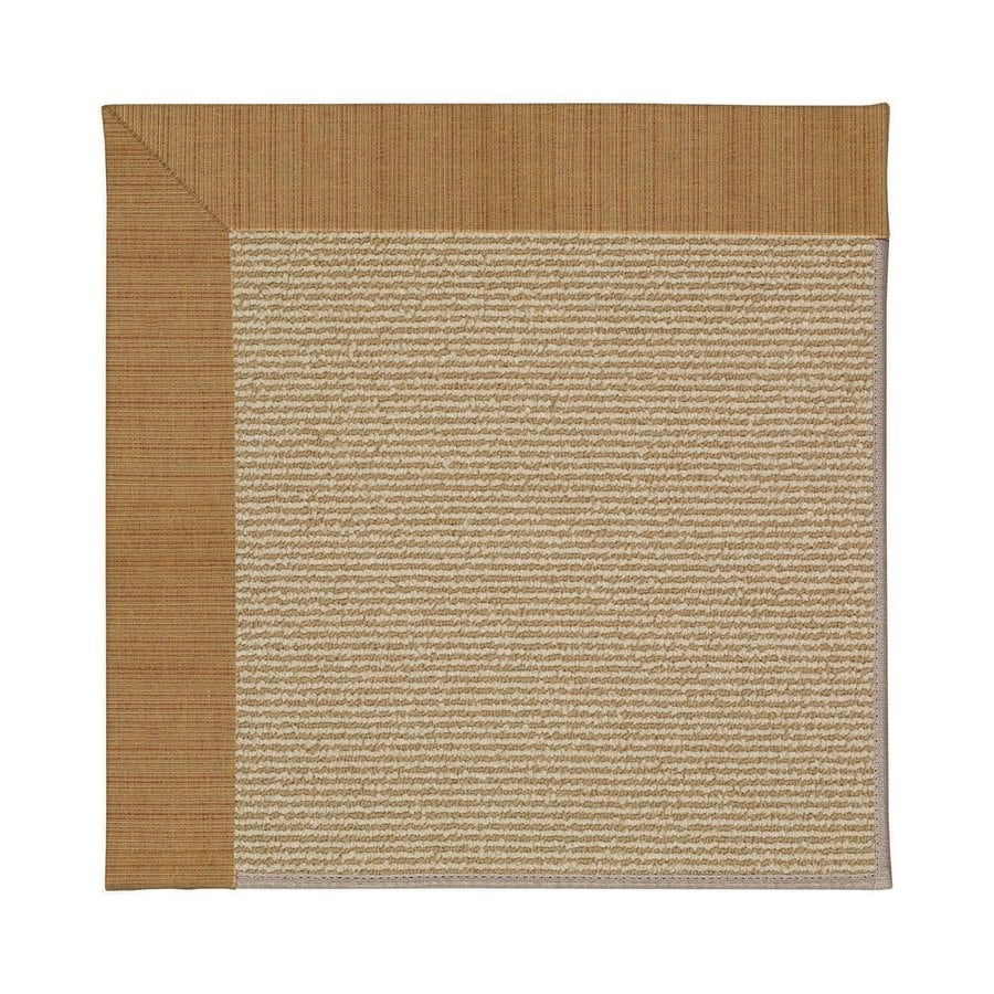 Capel Rugs Zoe-Sisal Golden Indoor/Outdoor Runner (Common: 2 x 12; Actual: 2.5-ft W x 12-ft L)