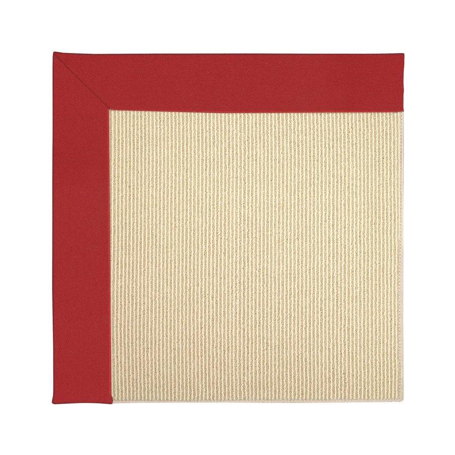 Capel Rugs Zoe-Beach Red Indoor/Outdoor Runner (Common: 2 x 8; Actual: 2.5-ft W x 8-ft L)