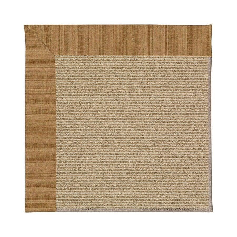 Capel Rugs Zoe-Sisal Golden Indoor/Outdoor Area Rug (Common: 8 x 10; Actual: 8-ft W x 10-ft L)