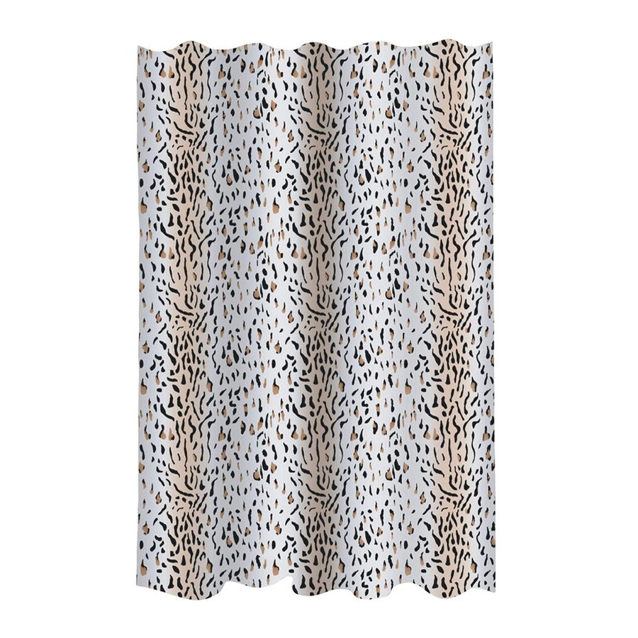 Carnation Home Fashions Hailey Polyester Brown White Patterneded