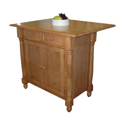 Sunset Trading Brown Casual Kitchen Island at Lowes.com