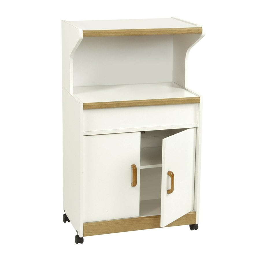 Ameriwood Home White Microwave Carts