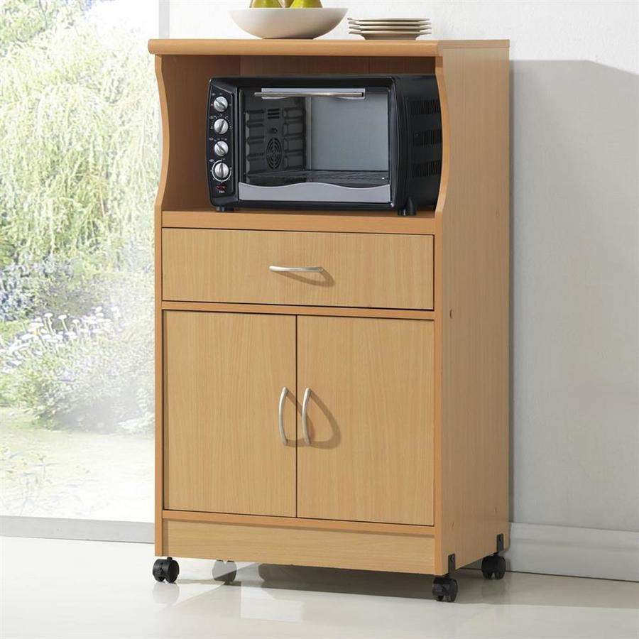 Microwave cart lowes bestmicrowave for Microwave table ikea