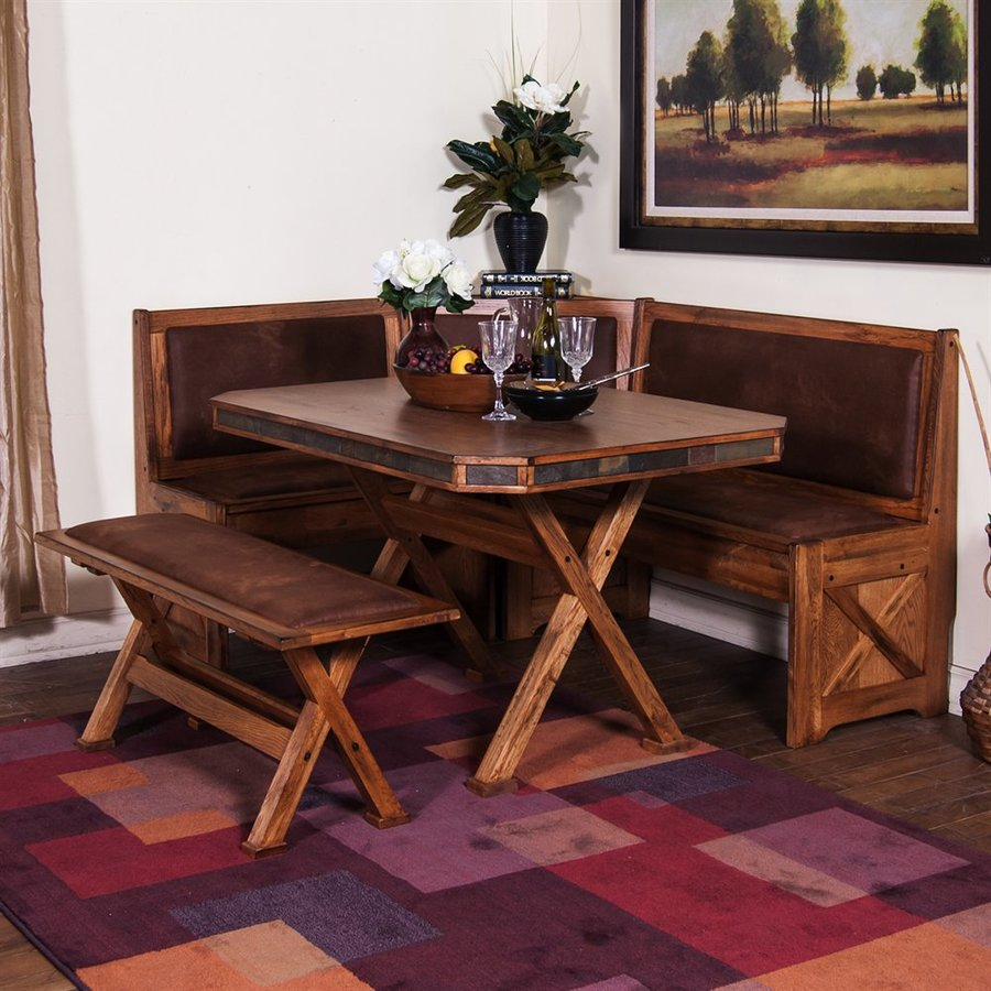Sunny Designs Sedona Rustic Oak Dining Set