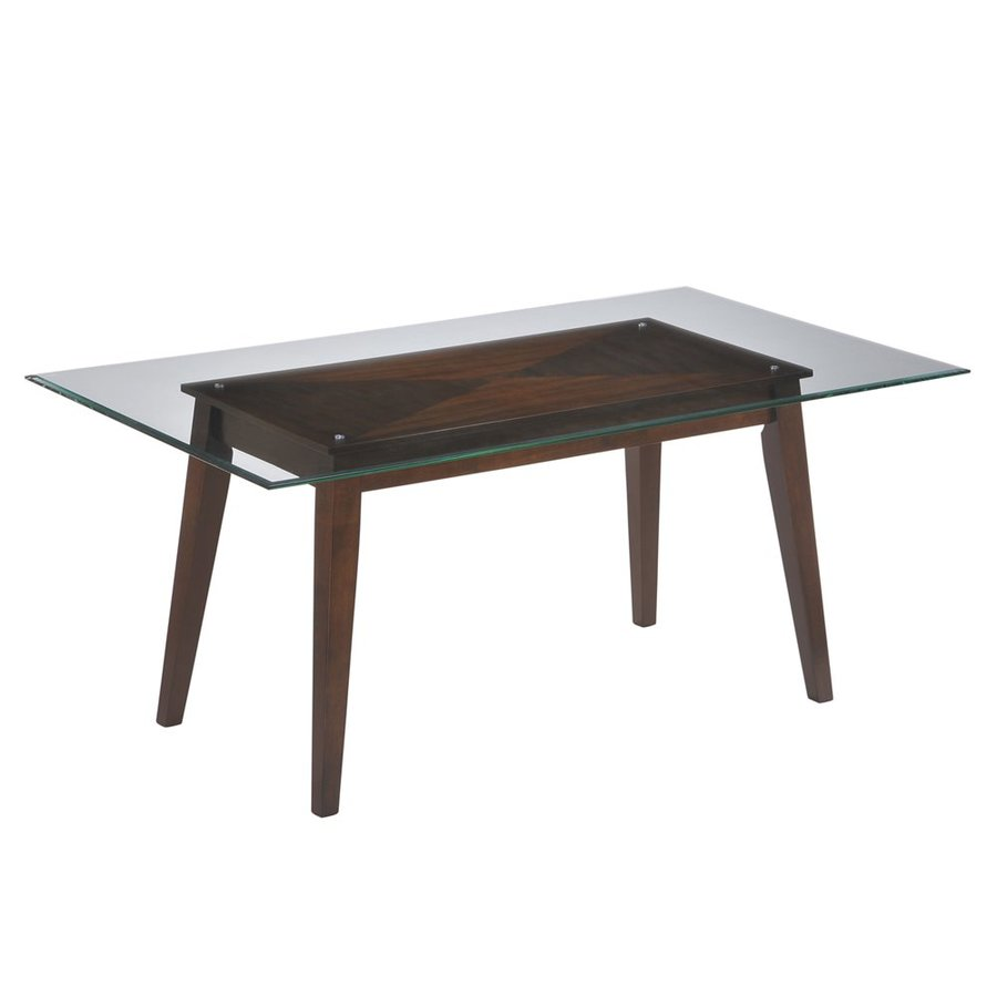 Myco Furniture Wegman Wegman Espresso Wood Dining Table