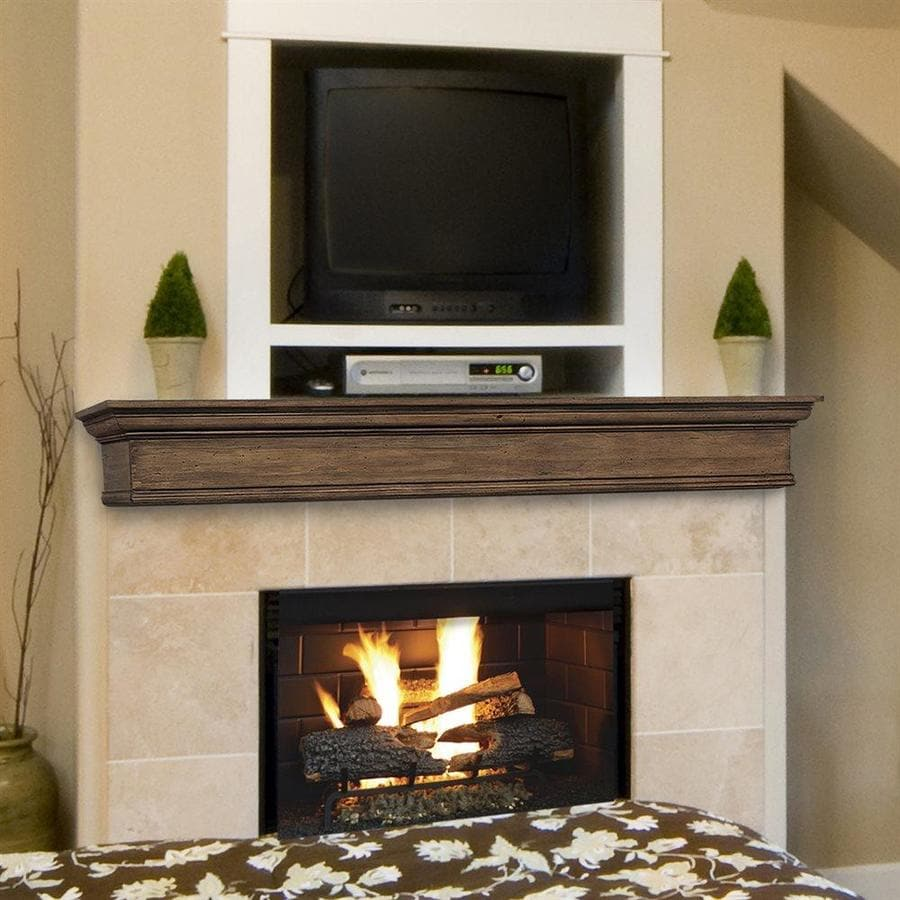 fireplace manels. Pearl Mantels Savannah 72 In W H X 9 D Taos Distressed Pine Traditional Shop